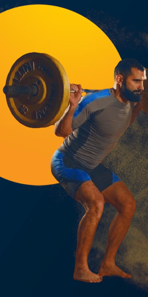 squats complets contre demi squats