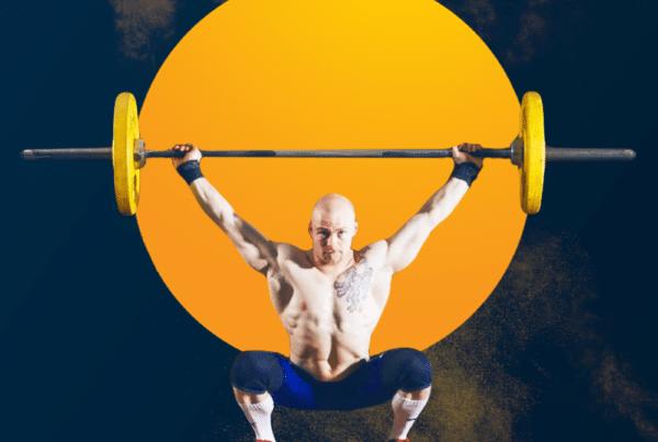 overhead squat, un mouvement nécessitant de la puissance