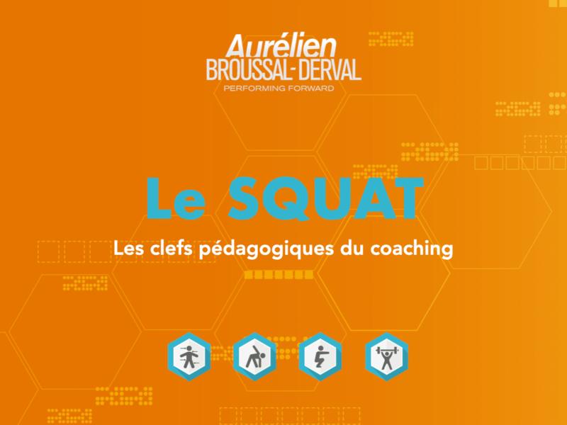 apprendre enseigner coacher le squat