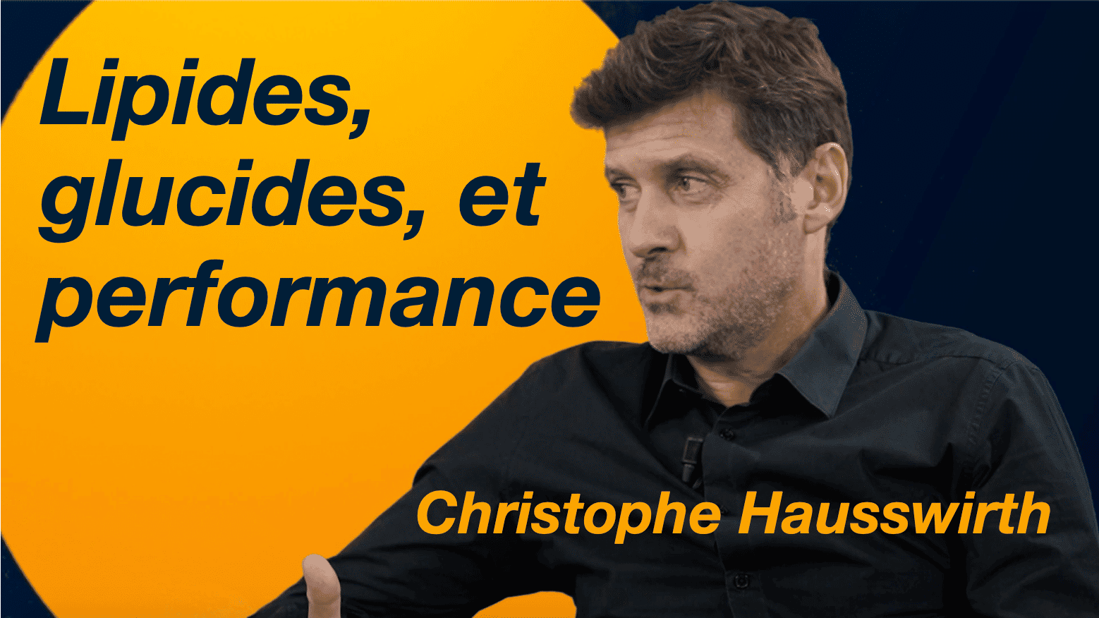 Lipides glucides et performance
